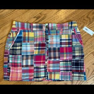 Old Navy Multi-Color Patchwork Skirt Size 6.